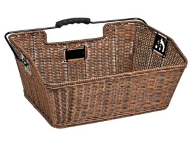 Unix Mateo Rear Wheel Basket finely woven brown
